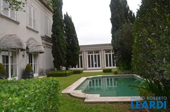 Casa Assobradada - Cidade Jardim - Sp - 587288