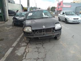 Renault Clio 1.0 16v Sucata Para Retirada De Peças