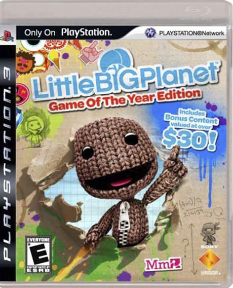 Litle Big Planet Ps3 Midia Fisica Pronta Entrega
