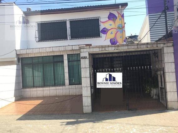Sobrado À Venda E À Locação, Moema, 310 M² - São Paulo/sp - So0233