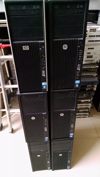 Servidor Hp Workstation Z400 8gb Ram Hd 500gb Quad Garanti