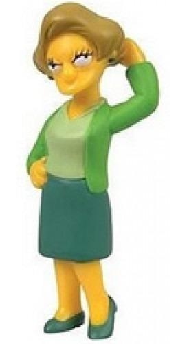 Edna Krabappel - Miniatura Simpsons! Colecione Todos!