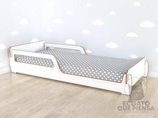 Cama Montessori De Piso 1,90 X 0,80 Baja Tipo Tatami