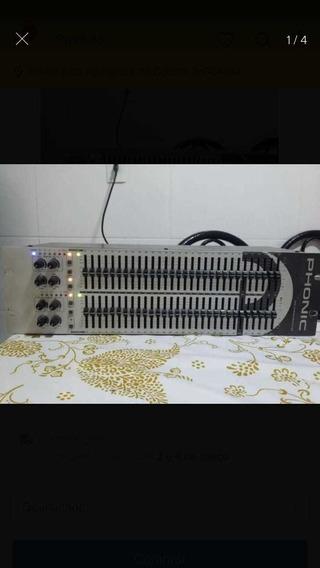 Equalizador 31 Bandas Phonic