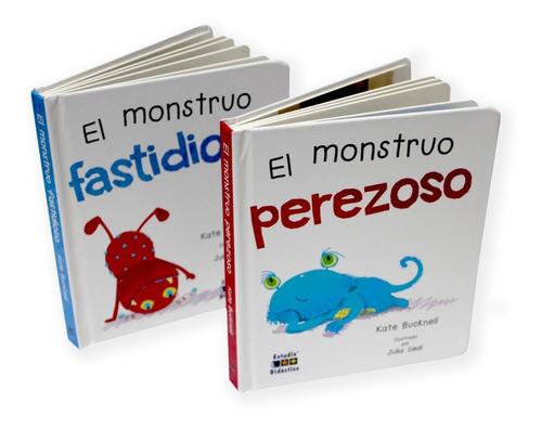 Imagen 1 de 8 de Monstruo Perezoso Y Fastidioso  Valores Infantiles