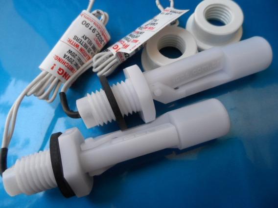 2 Sensores De Nível Água Original Eicos La16m 40 Na Nf+ Adap