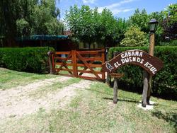 Alquiler De Cabaña En Mina Clavero - El Duende Azul -pileta