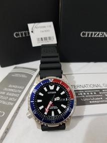 Relogio Citizen Automatico 200m Diver Pepsi Edicao Especial