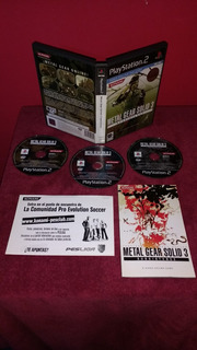(pal) Metal Gear Solid 3 Subsistence Ps2 Original Español