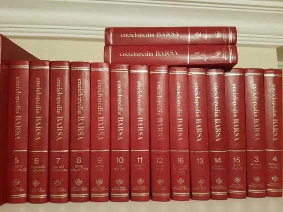 Colecao Completa Enciclopedia Barsa 31 Livros No Total!!!