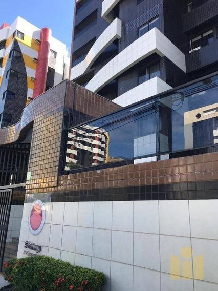 Apartamento Com 3 Dormitórios À Venda, 114 M² Por R$ 550.000 - Jatiúca - Maceió/al - Ap0476