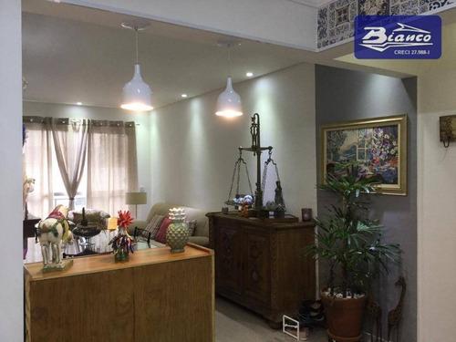 Imagem 1 de 19 de Apartamento Com 3 Dormitórios À Venda, 76 M² Por R$ 415.000,00 - Centro - Guarulhos/sp - Ap4405