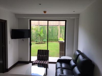 Apartamento Amueblado Para Alquiler En Santa Ana, Montesol