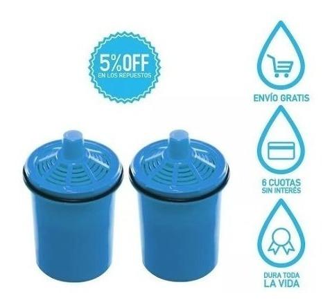 2 Repuestos Filtro De Agua Sense Dvigi