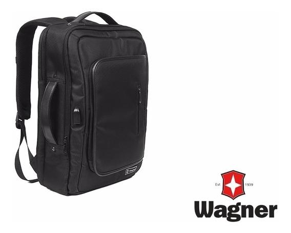 Mochila Ziel Wagner Smart Premium Importada Con Cargador Usb