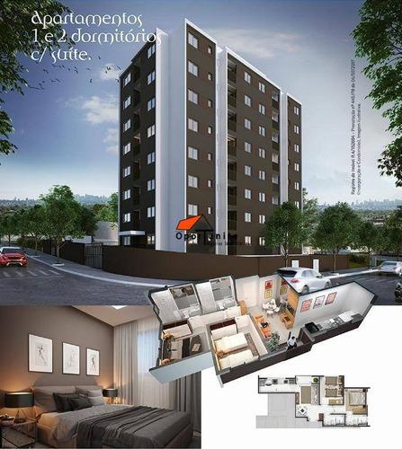 Apartamento Com 1 Dormitório À Venda, 34 M² Por R$ 169.000,00 - Distrito De Bonfim Paulista - Ribeirão Preto/sp - Ap1421