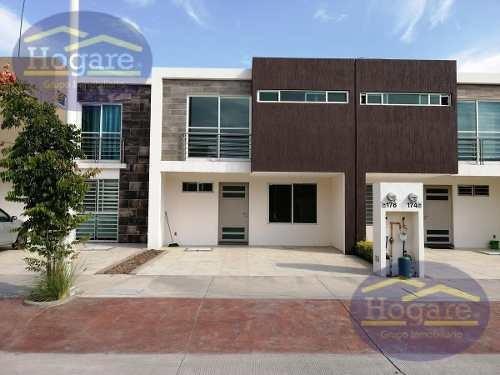Casa Nueva En Renta Fraccionamiento Albazul León Gto.