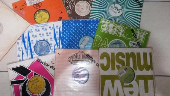 Vinil Eurodance Lote Com 10 Discos Ou 30 A Unid.