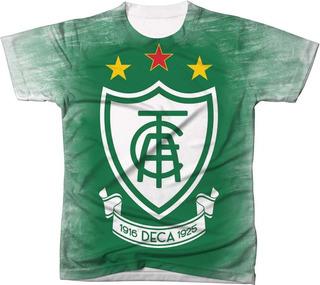 Camisa Camiseta Time Futebol Bola Clube América Pernambuco 2
