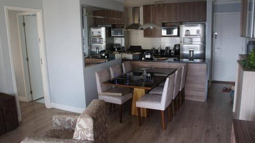Apartamento 70m², 2 Dormitorios, 1 Suíte, 1 Vagas - Vila Gumercindo - Ap11922