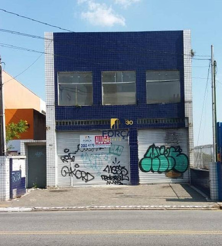 Salão Para Alugar, 851 M² - Jardim Adutora - São Paulo/sp - Sl0040