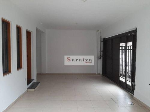 Sobrado Com 3 Dormitórios À Venda, 183 M² Por R$ 745.000 - Vila Euclides - São Bernardo Do Campo/sp - So1173