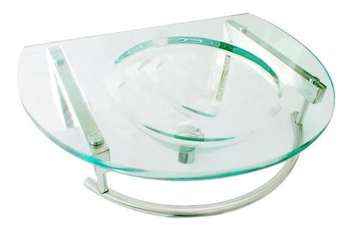 Bacha Vidrio Colgante Vanitory Mueble Diseño Colgar 19mm