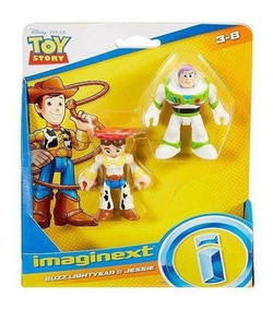 Imaginext Disney Toy Story Figura Buzz Lightyear E Jessie