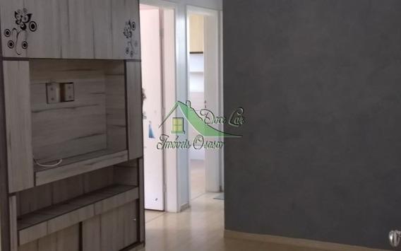 Lindo Apartamento, Condomínio Bosque Das Flores Em Osasco.