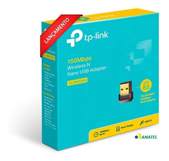 Adaptador Usb Wireless 150mbps Nano Tp-link Tl-wn725n V3