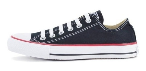 Tênis Converse All Star Cano Baixo Preto Ct00010007