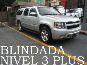 Suburban 2014 Lt Blindada Nivel 3 Plus Blindaje Blindados