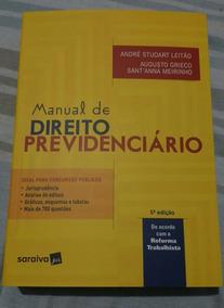 Manual De Direito Previdenciário 2018 - Andre Studart Leitão