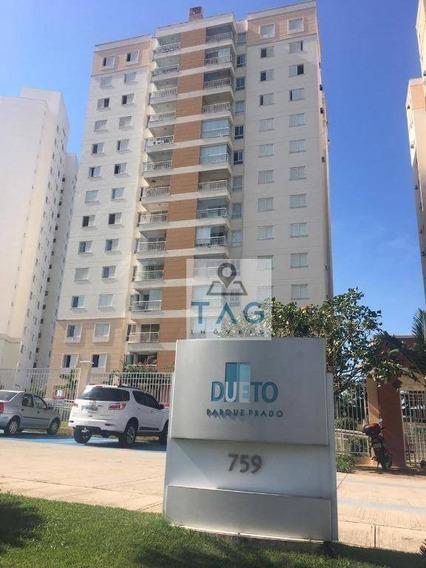 Apartamento Incrível E Mobiliado No Pq. Prado - Cond. Duetto - Ap0332