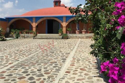 Venta De Casa De Retiro, Hacienda, Rancho., En San Miguel De Victoria, Estado De México $3,800,000.00