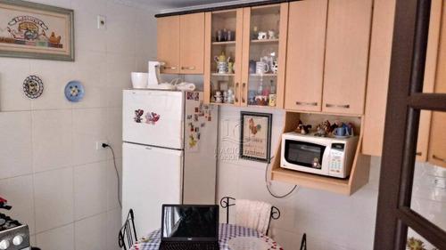 Sobrado Com 2 Dormitórios À Venda, 111 M² Por R$ 450.000,00 - Parque Novo Oratório - Santo André/sp - So2415