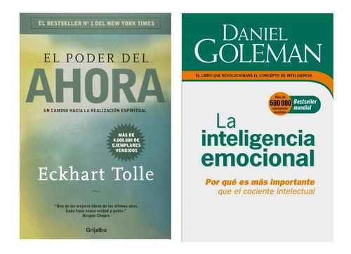 Imagen 1 de 1 de Paquete La Inteligencia Emocional + El Poder Del Ahora