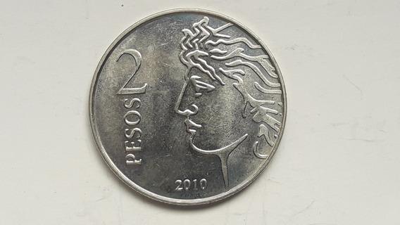 * Gratis El Envío 2 Pesos 2010. 75° Aniv. Bcra. Sin Circular