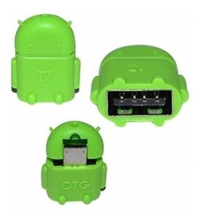 Mini Adaptador V8 Micro Usb / Usb Femea Otg