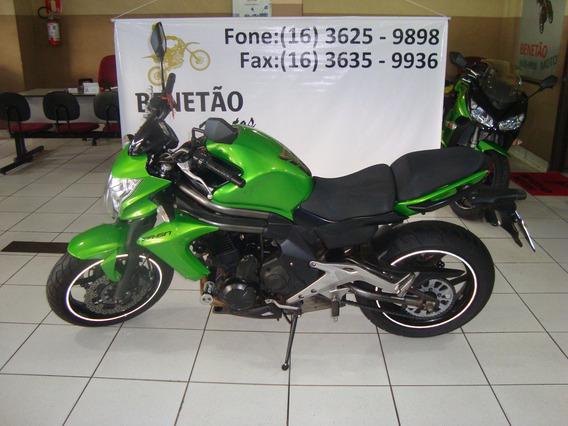 Kawasaki Er6 650 N Verde 2013