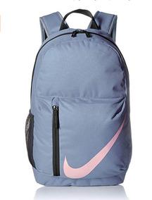 Mochila Escolar Juvenil Mujer Hombre Nike Azul Acero Origina