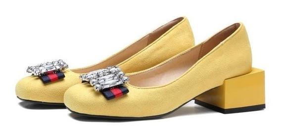 Sapato Feminino Mslncorp 61203 Importado Frete Grátis