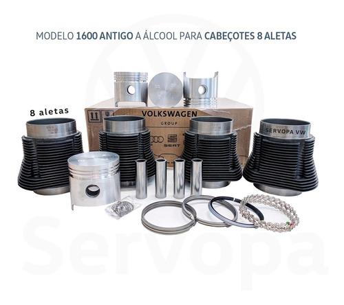 Kit Motor Ar 1600 Alcool Antigo Kombi & Fusca Original Vw