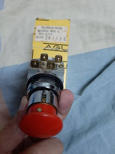 Pulsador De Retención 30mm Tipo Hongo Y Otras Medidas