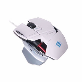 Mouse Mad Catz R.a.t. 3 White 3500 Dpi + Nfe