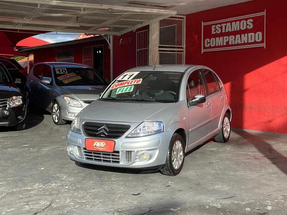 Citroen C3 Exclusive 1.4 Prata 2011
