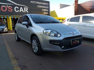 Fiat Punto 1.4 2013 Atractive Italia Prata Completo