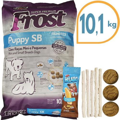 Comida Perro Cachorro Frost Sb Raza Pequeña 10,1 Kg + Regalo