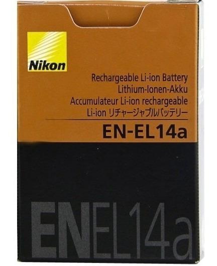 Bateria Recarregavel Nikon En-el14a
