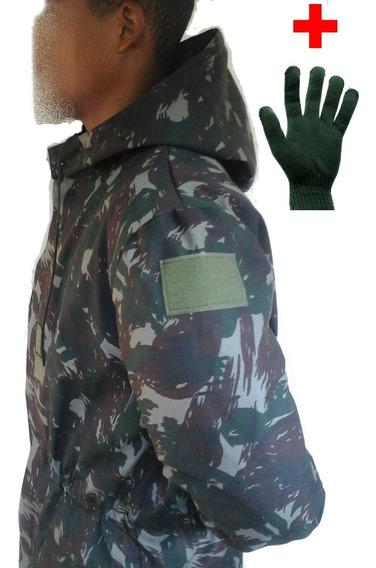 Japona De Campanha Blusa Blusão Jaqueta Camuflada Exercito